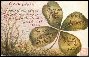 Good Luck (Embossed)