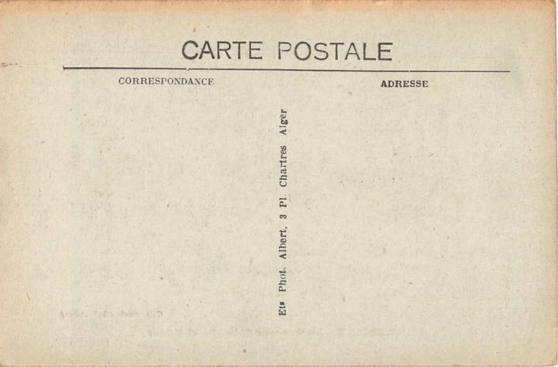 Ferryville Algeria La Caserne Sidi Abd el Kader Antique Postcard J50262