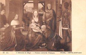 L'Adoration des Mages Bruges Belgium Unused