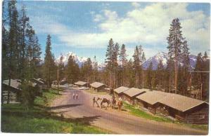 Cabins Colter Bay Village Grand Teton National Park Wyoming
