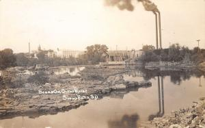 Sioux Falls South Dakota~John Morrell Meat Packing Plant~River Factory~1912 RPPC