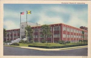 Ohio Akron Goodyear Research Laboratory Curteich