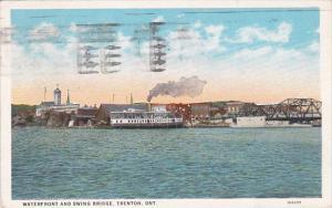 Waterfront and Swing Bridge, Trenton, Canada, PU-1931