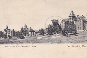 Part Of Northfield Seminary Campus, East Northfield, Massachusetts, PU-1909