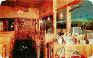 Colorado Springs Colorado Sanborn Dexter Merri Lane Restaurant Postcard 20-11808