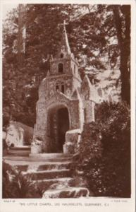 Tucks The Little Chapel Les Vauxbelets Guernsey Channel Islands Real Photo