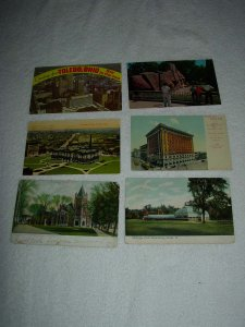 Toldeo OH - Lot Of 6 Great Vintage Postcards - x0603