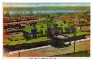 7199  N.B.  Moncton   C.N.R. Station