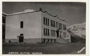 RP , SEWARD , Alaska , 1930-40s ; School