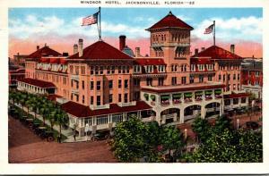 Florida Jacksonville Windsor Hotel 1938