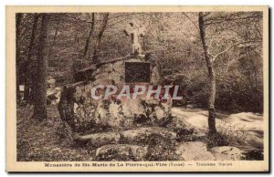 Monastery of Saint Mary of Peter Vire Old Postcard third station