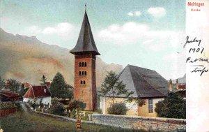 Kirche Meiningen Thuringia Germany 1910c postcard