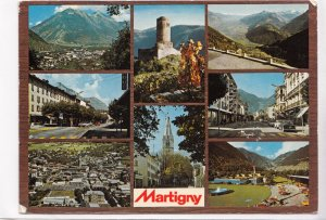 Martigny, Valais, Switzerland, 1974 used Postcard