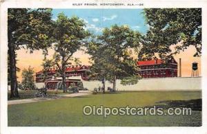 Kilby Prison Montgomery, Alabama USA Prison Postcard Post Card Montgomery, Al...