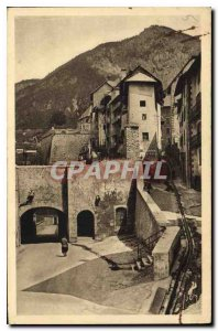 Old Postcard Briancon Htes Alps Gate of Embrun