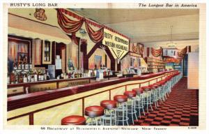 16895 NJ Newark  Rusty's Long bar