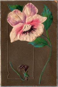 Artful Flower Postcard Made in Germany pre 1920s unused