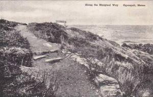Maine Ogunquit The Marginal Way Albertype