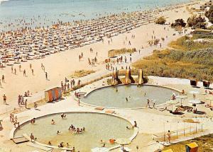 Bulgaria La Station Balneaire Albena La plage Strand