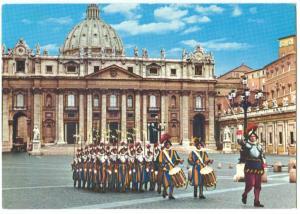 Italy, ROMA, S. Pietro, Switzers in gala dress, used Postcard
