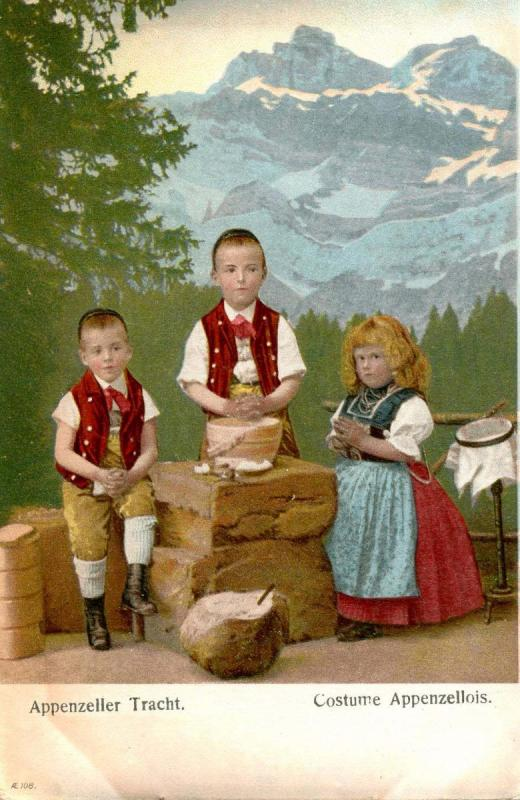 Germany - Appenzeller Tracht - Bavarian Garments, Children