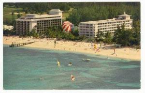 Man Para-sailing, Nassau Beach Hotel, Nassau, Bahamas, 40-60s