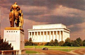 Washington D C Lincoln Memorial