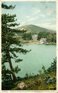 NY - Upper Saranac Lake. Hiawatha Lodge, Panther Mountain
