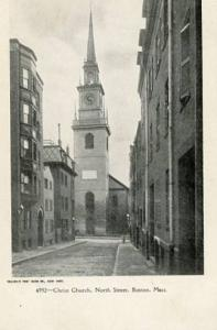 MA - Boston, Christ Church, North Street