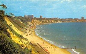 Dorset Postcard, BOURNEMOUTH from Canford Cliffs, Sun, Sea, Sand, Beach AW8