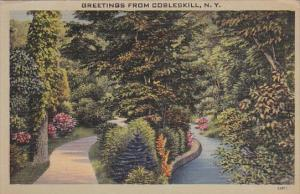 Greetings From Cobleskill New York 1943
