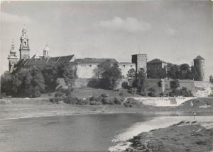 Krakow Poland 1960s partial view