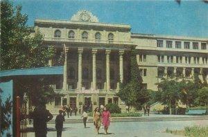 Postcard Azerbaijan BAKU the Ch. Ildrym politechnical institute