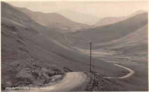 England English Lake District Buttermere Hause House Pass Road