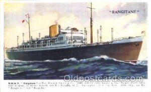 R.M.M.V. Rangitane Ocean Liner, Ocean Liners, Oceanliner Ship Ships Postcard ...
