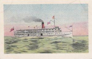 Steamer Toronto, Ocean Liner, 10-20s