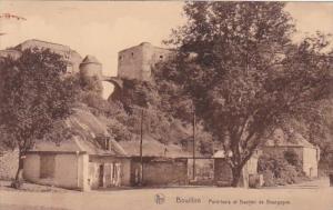 Belgium Bouillon Pont-levis Bastion de Bourgogne 1935