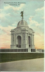 Gettysburg, Pa., Pennsylvania State Monument