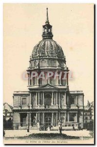 Old Postcard Paris Dome of the Hotel des Invalides