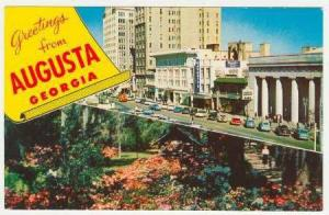 Greetings from Augusta,Georgia, 40-60s