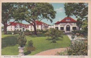 Florida Gainesville Hotel Thomas Curteich 1940