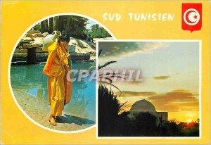 Postcard Modern Southern Tunisia