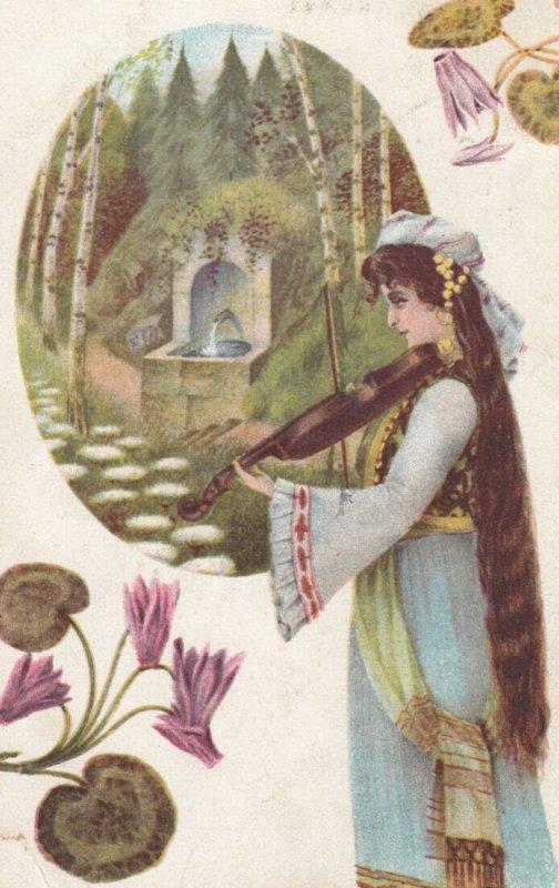 Female Violin player , 00-10s