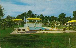 Prestler's Motel, Swimming Pool, Lakeland, Florida, United States, 40´s-60´s