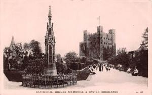 Rochester, Cathedral Jubilee Memorial and Castle Eastgate Series 1910