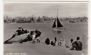 Tanzania; The Ferry, Dar Es Salaam, No 3 RP PPC By D.E.S. Bookshop, Unused
