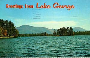 New York Greetings From Lake George 1976