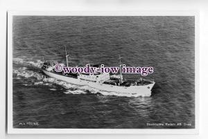 cb0304 - Swedish Cargo Ship - Folias , built 1949 - postcard