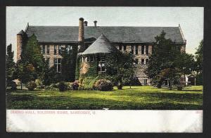 Soldiers Home Outside View Sandusky OH Unused c1905