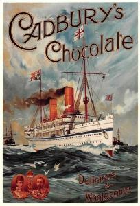 Cadbury's Chocolate, Delicious & Wholesome, S.S. Ophir, Advertising Reprint